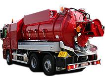 camiones de limpieza